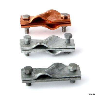 Клема от Горещо поцинкована стомана за свързване на плътен или многожилен проводник